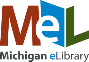 Michigan E Library Logo