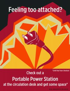 Image of poster about portable power stations