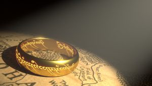 Ring from Tolkien's Lord of the Rings