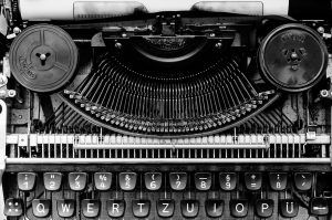 Image of a typewriter