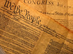 Image of the United States Constitution