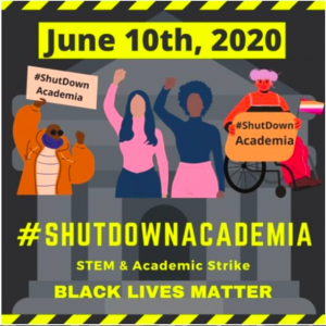 Shut Down Academia graphic